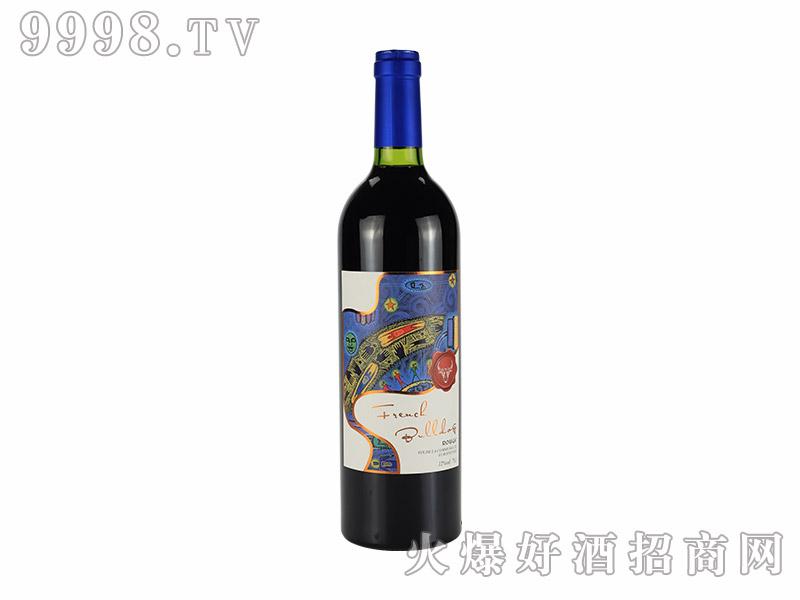 法牛-埃布尔干红葡萄酒【12度750ml】