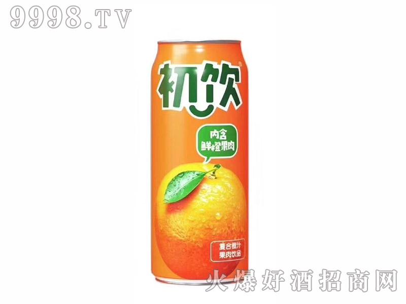 初饮复合橙汁果肉饮品【500g】