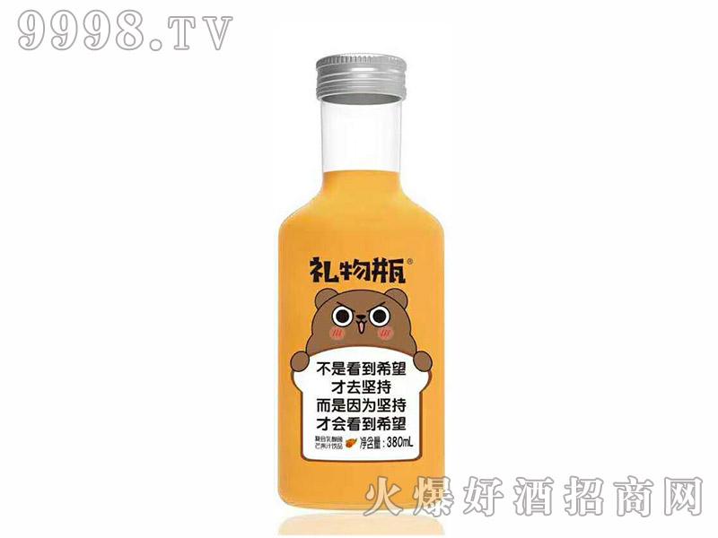 初饮复合芒果饮品礼物瓶【380ml】