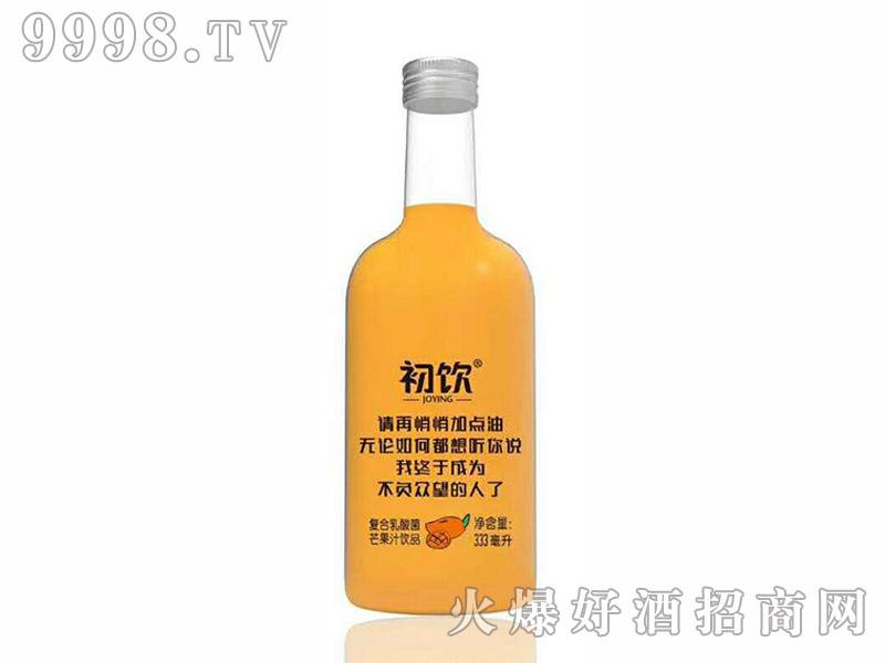 初饮复合芒果饮品玻璃瓶【333ml】