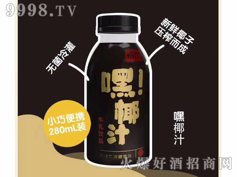 初饮嘿椰汁牛乳饮品【280ml】