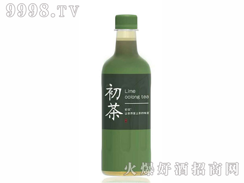 初饮初茶青柠乌龙茶【500ml】
