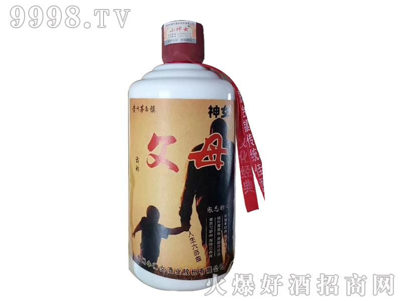 小神女酒父母酱香型白酒【53度500ml】