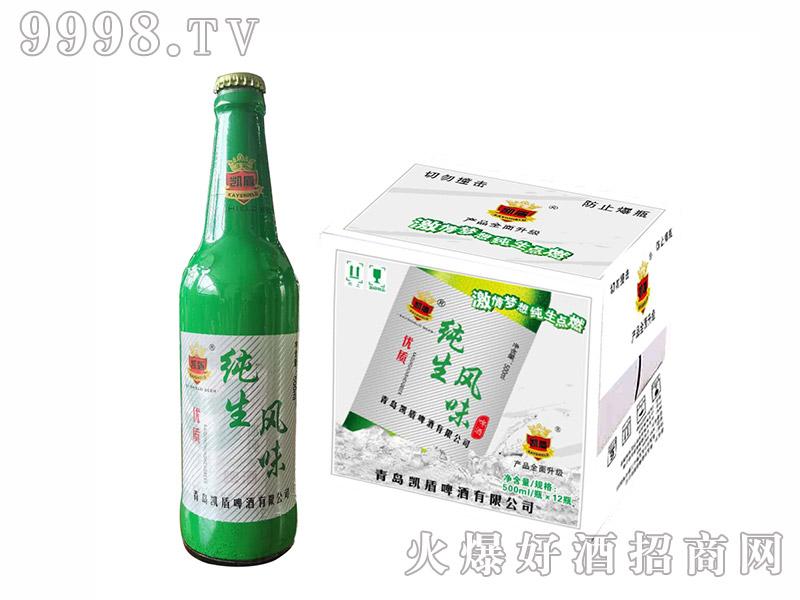 鲁雪纯生啤酒【500ml】