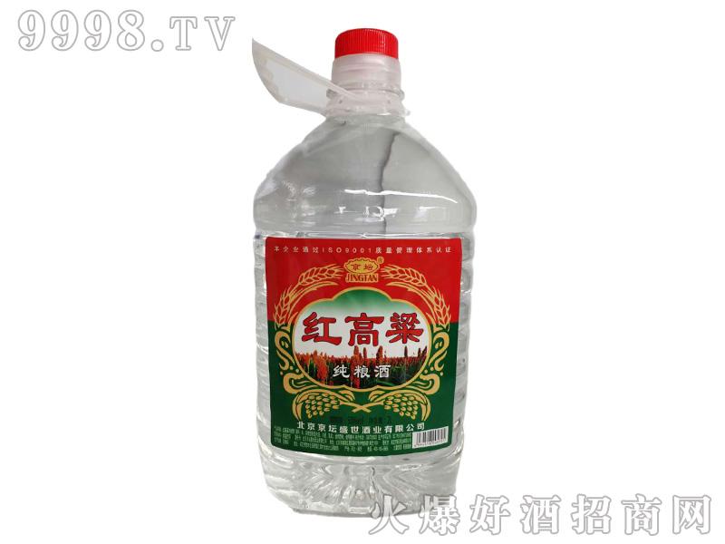 京坛红高粱纯粮酒浓香型白酒【52°2000ml】