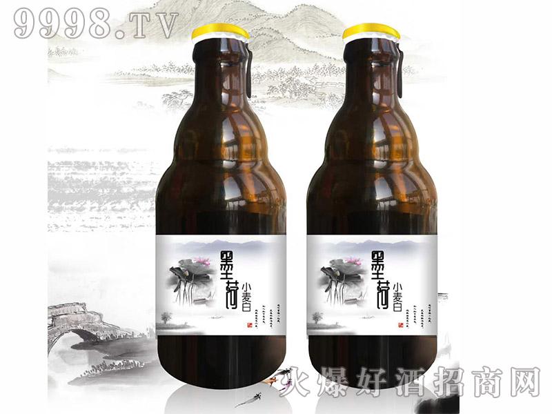 墨荷小麦白啤酒侧拉式【296ml】