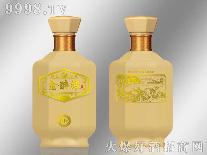 金醉缘10酒浓香型白酒【52度500ml】