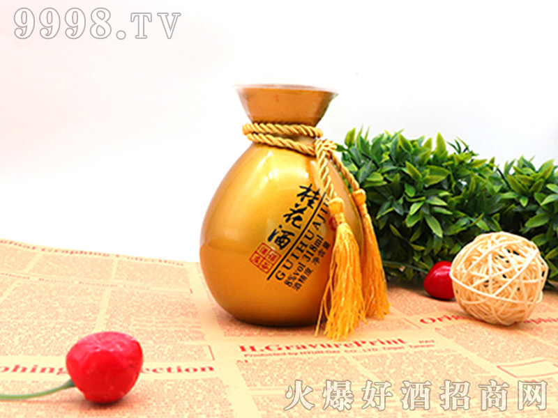 诺谷酒庄桂花酒【8度318ml】