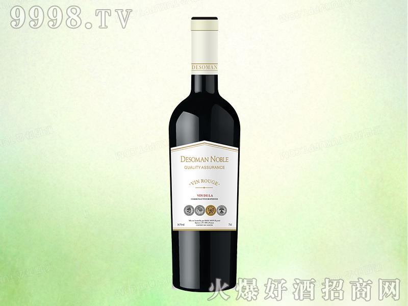 法国德索曼贵族干红葡萄酒【14.5度750ml】