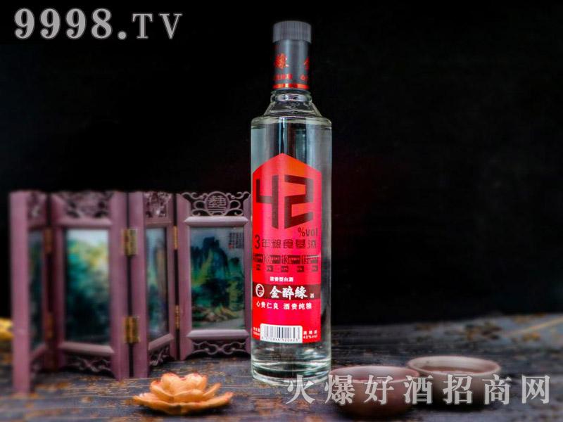 金醉缘酒浓香型白酒【42°500ml】