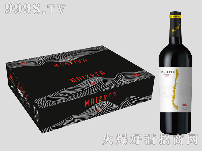 迈尔法・智利山谷干红葡萄酒【13°750ml】