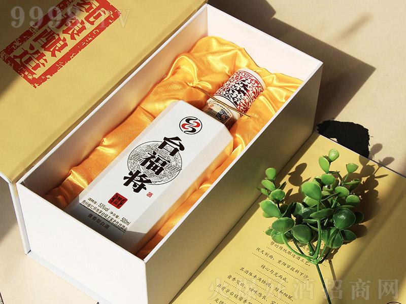 台福将精品酱香型白酒【53度500ml】