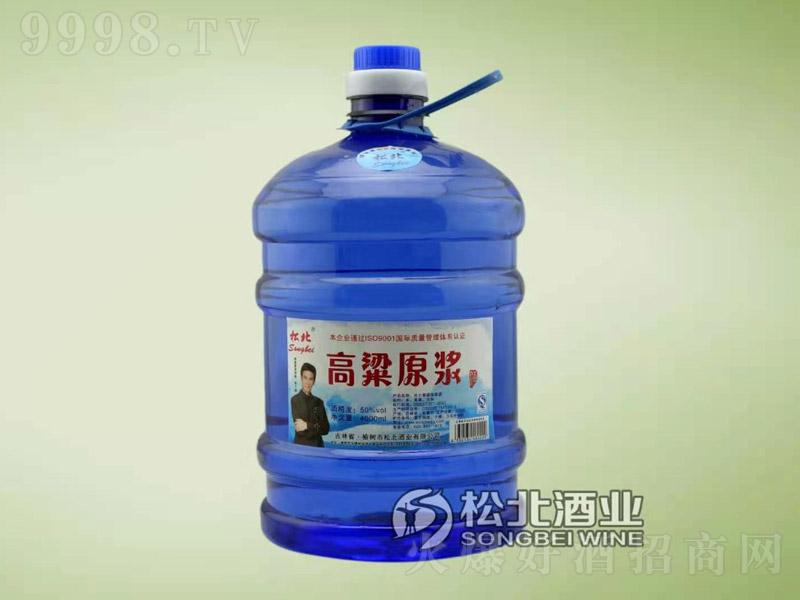 松北高粱原浆酒50度4L(蓝桶)