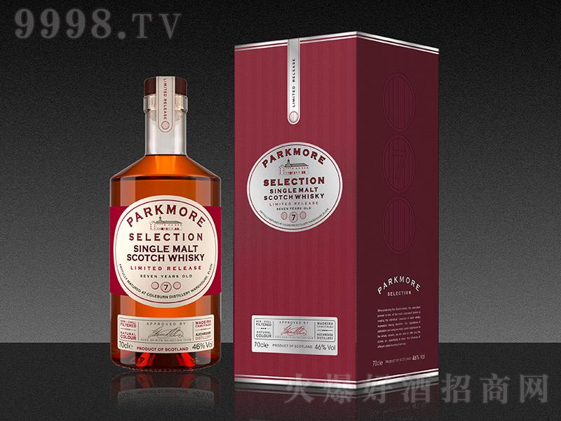 帕克摩尔精选7年单一麦芽威士忌【46度700ml】
