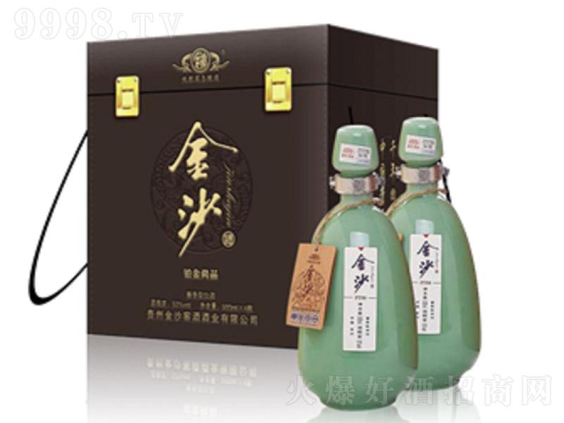 金沙酒铂金.尚品酱香型白酒【53度500ml】