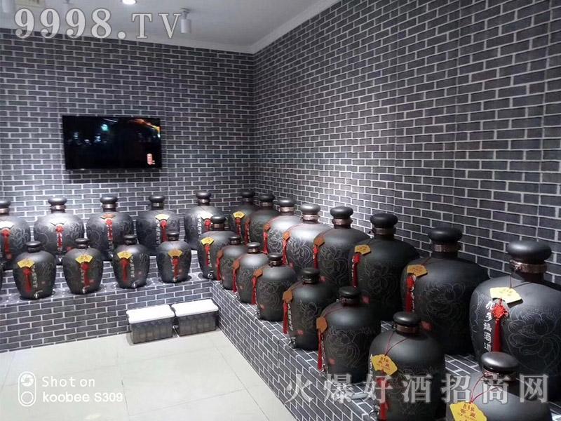 加多福酒道馆加盟店产品展示