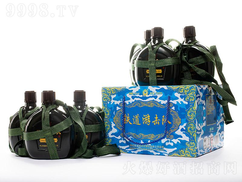 铁道游击队酒军壶瓶型浓香型白酒【52°490ml】