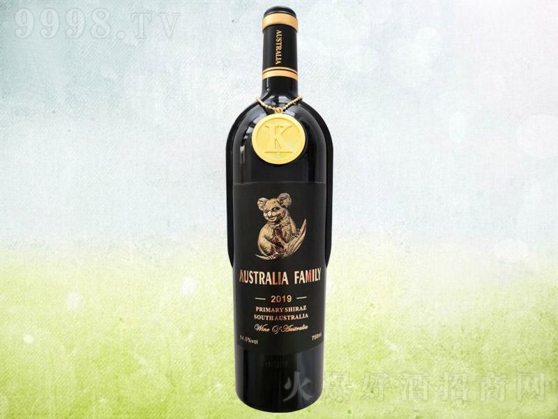 澳族酒庄考拉干红葡萄酒14.5°750ml
