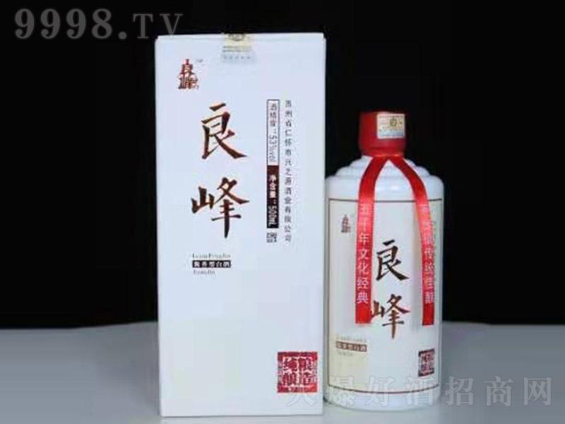 良峰酱香型白酒白瓶【53度500ml】