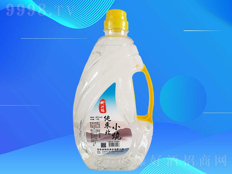 榆江醇纯东北小烧酒T1L003【42度1.8L×8桶】