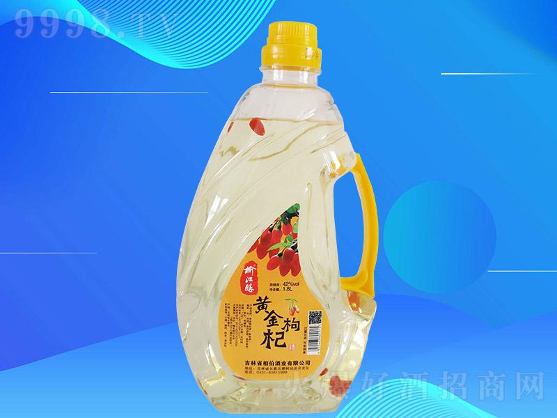 榆江醇黄金枸杞酒T1L004【42度1.8L×8桶】