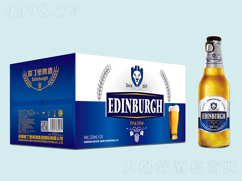 英国爱丁堡啤酒蓝箱白瓶【9°218ml×24】