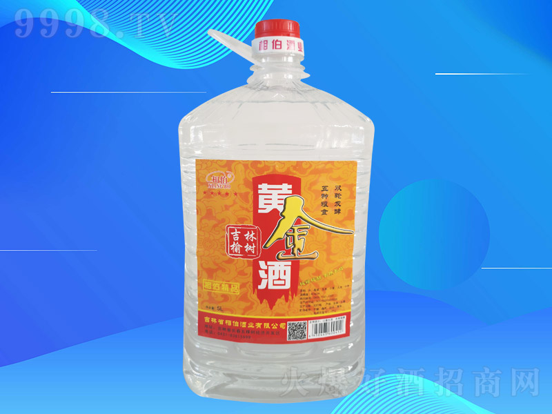 相伯黄金酒003【42度5L×4桶】
