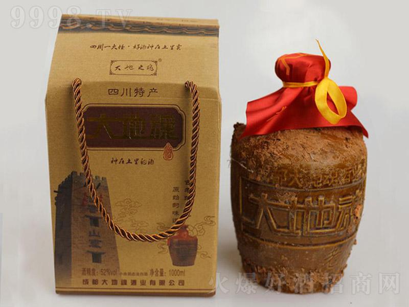 大地魂陶瓶泥巴酒(礼盒)清香型白酒【52度1000ml×6】