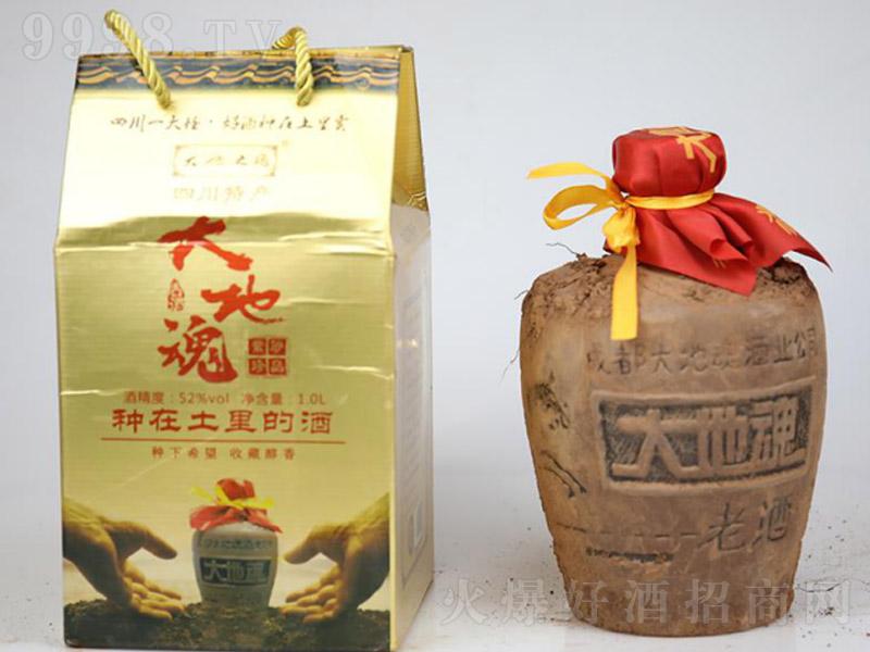 紫砂珍品泥巴酒(礼盒)清香型白酒【52度1000ml×6】