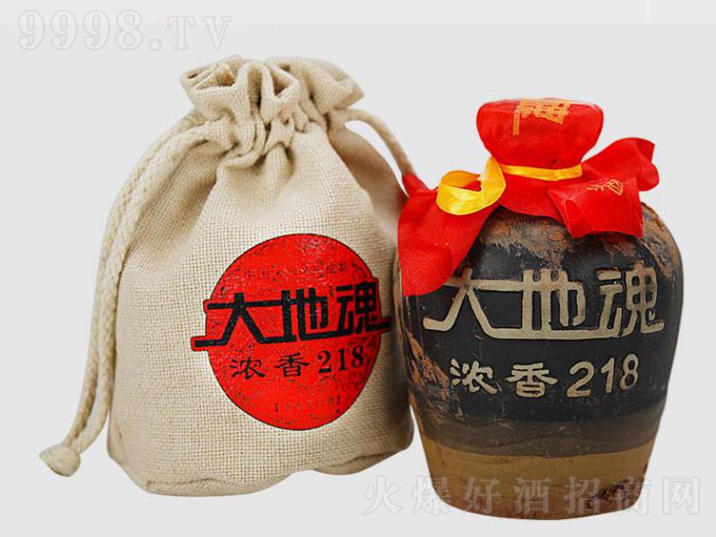 浓香218泥巴酒(布袋) 浓香型白酒【52度 500ml×6】