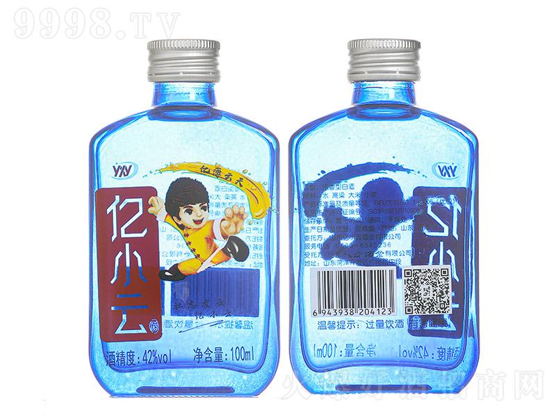 亿小云酒青春小酒蓝瓶浓香型白酒【42度100ml】