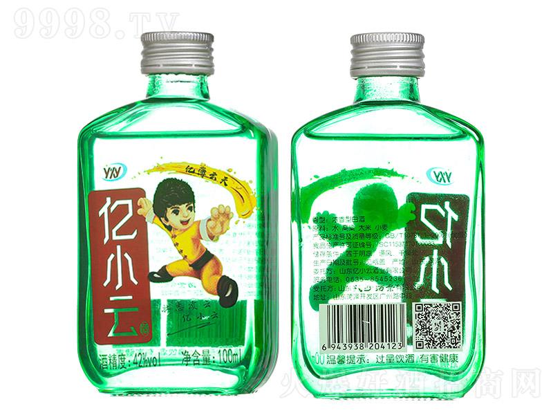 亿小云酒青春小酒绿瓶浓香型白酒【42度100ml】
