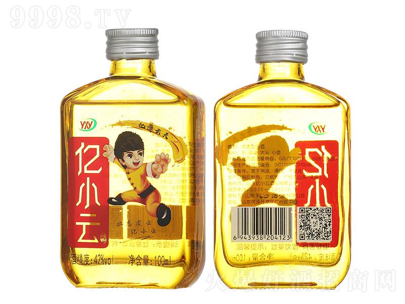 亿小云酒青春小酒浓香型白酒【42度100ml】