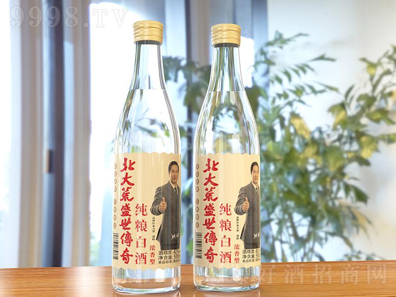 北大荒盛世传奇纯粮白酒浓香型白酒【42度500ml】