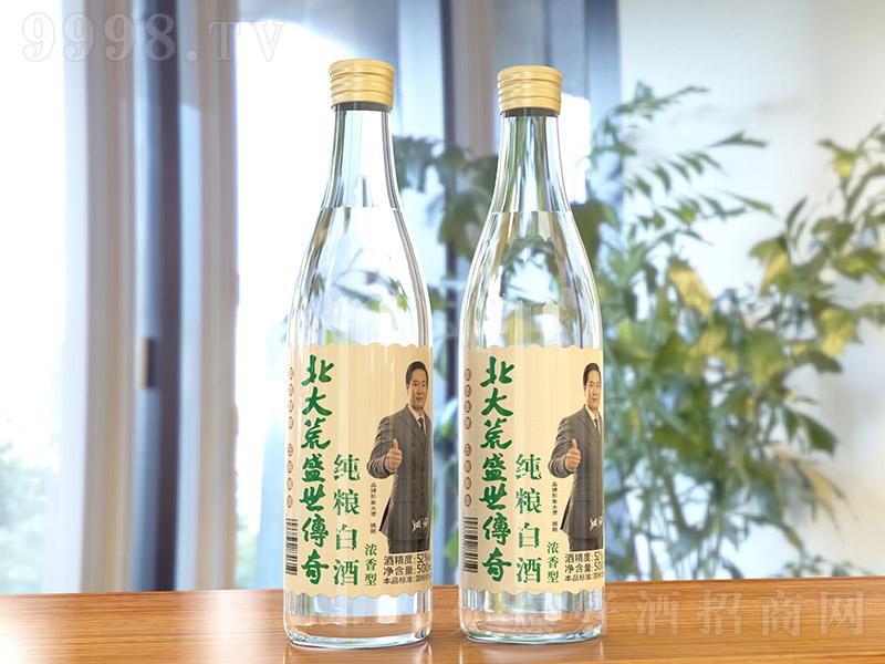 北大荒盛世传奇纯粮白酒浓香型白酒【52度500ml】