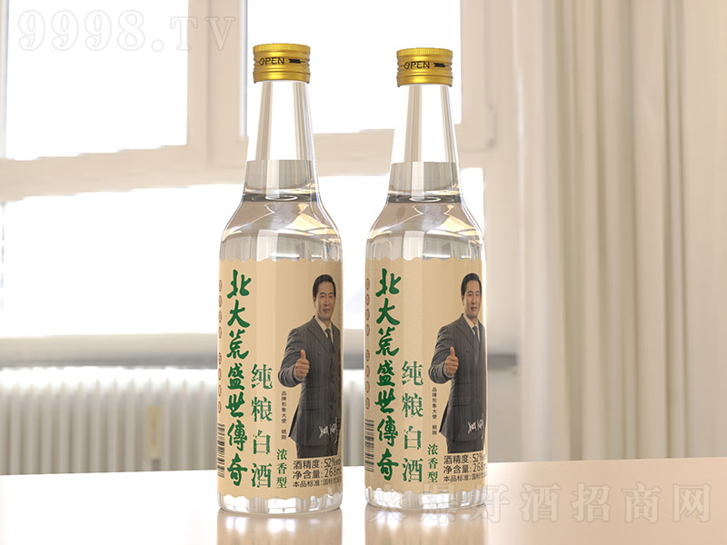 北大荒盛世传奇纯粮白酒浓香型白酒【52度268ml】