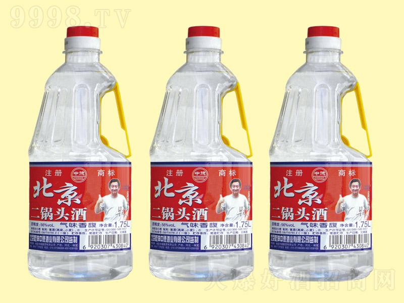 北京二锅头酒桶装1.75L
