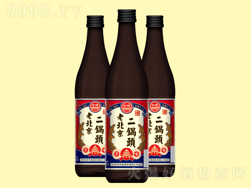 北京二锅头酒圆瓶【42°500ml】