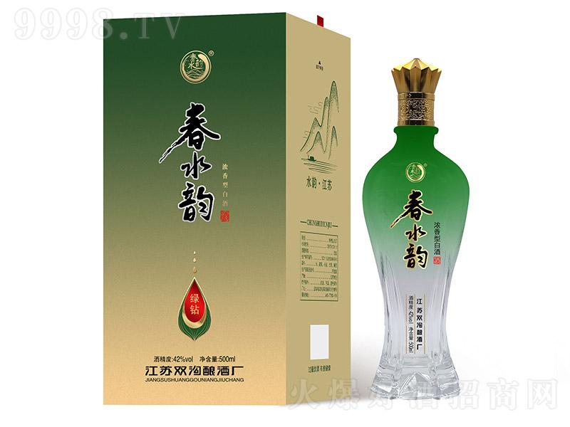 春水韵酒浓香型白酒【42°500ml】