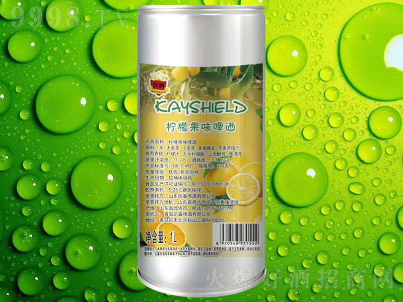 凯盾柠檬果味啤酒【11° 1L】