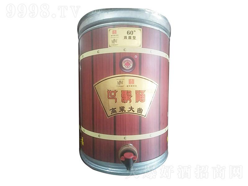 世聚福 高粱大曲酒 清香型白酒【60°】