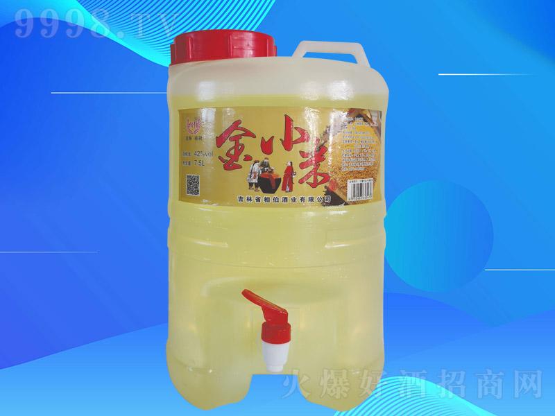 相伯金小米酒Z003【42度7.52L×1桶】