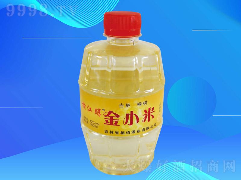 榆江醇金小米酒T-0.5L004【42度500ml】