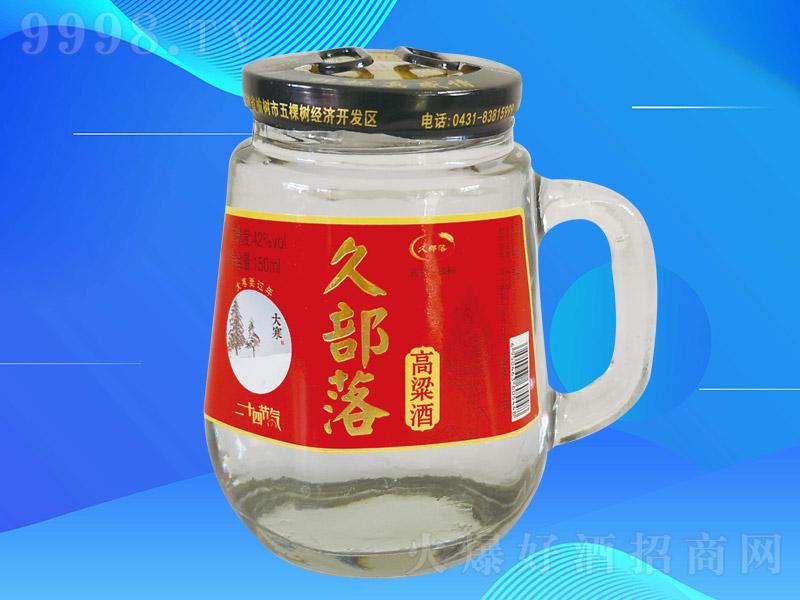 久部落高粱酒K002【42度150ml×24杯】