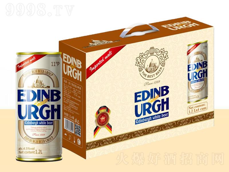 爱丁堡白啤礼盒【4.5° 1.2L】