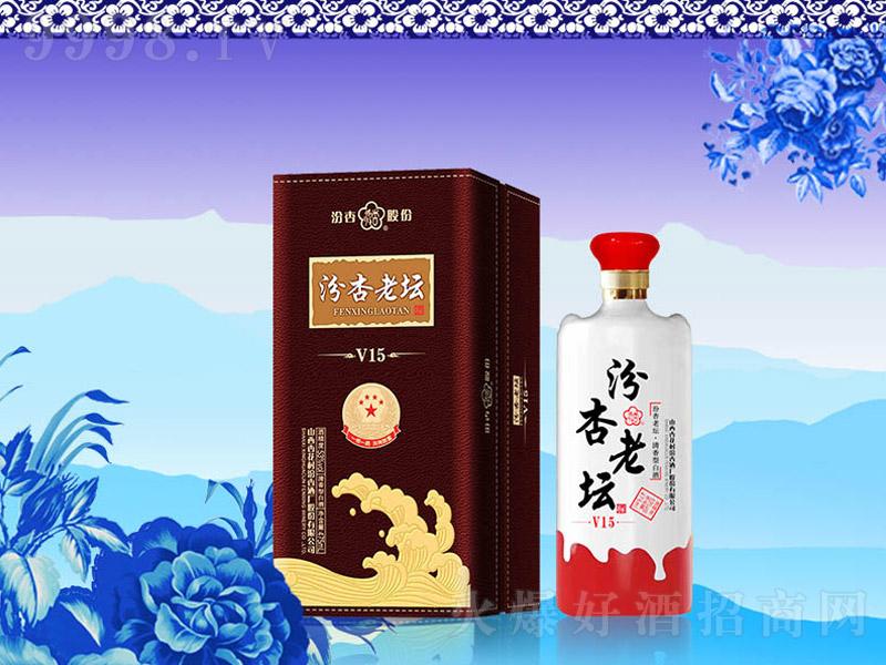 汾杏老坛酒V15 清香型白酒【53度 475ml】