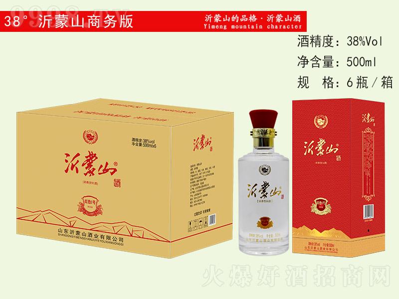 沂蒙山酒商务版 浓香型白酒【38° 500ml×6】